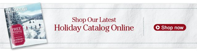 Shop Our Latest Holiday Catalog Online Now
