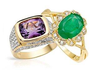 For Holiday Season: Precious Stone Jewelry Blowout