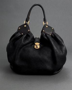Louis Vuitton Mahina XL Genuine Leather Hobo Bag $3829