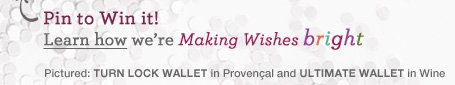 Pin to Win it! Learn how we're Making Wishes Bright