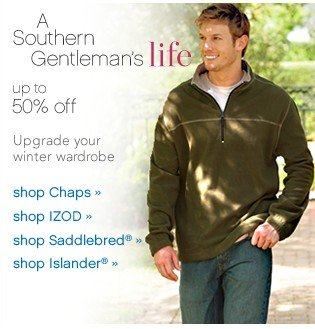 A Southern Gentleman's Life. Up to 50% off. Shop now.