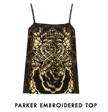 Parker Embroidered Top