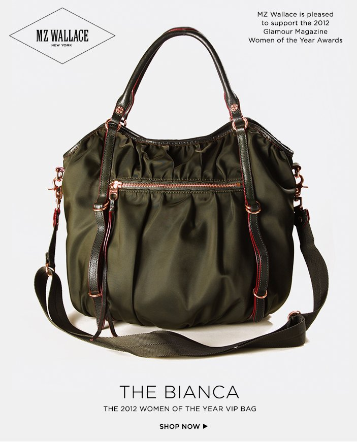 Bianca: The VIP Bag for the 2012 Glamour Women of the Year Awards.