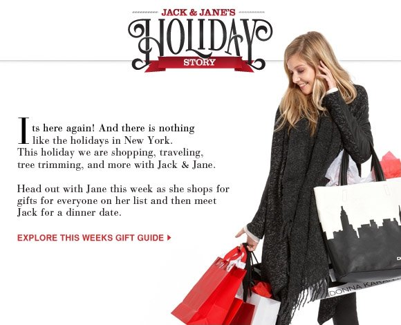 EXPLORE THIS WEEKS GIFT GUIDE