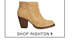 Shop RIGHTON Cognac Suede