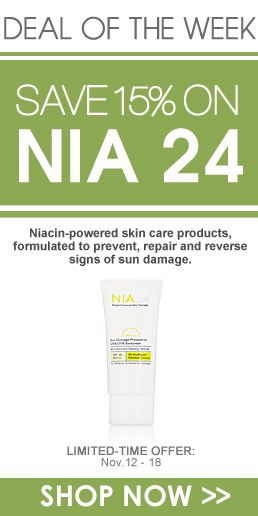 Deal of the Week: 15% Off Nia 24 Limited-Time Offer: November 12 – 18 Shop Now>>