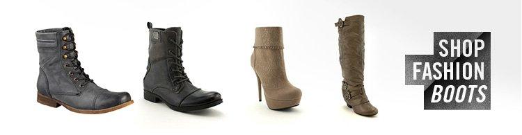 Shop Fashion Boots!