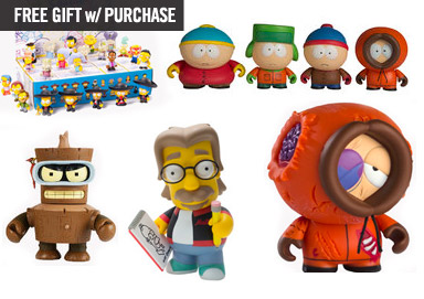 Shop Designer Toys ft. Southpark & More
