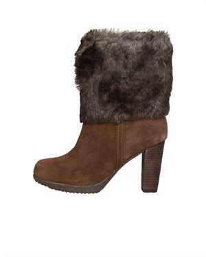 Dr. Scholl's Suede Fur Half Boots $65