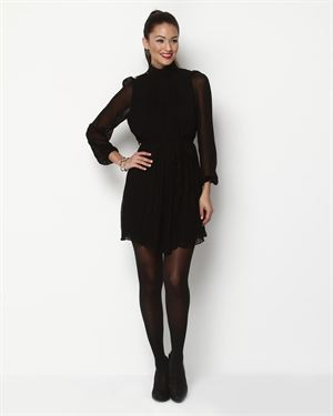 Ya Los Angeles Pleated Silk-Blend Dress $35