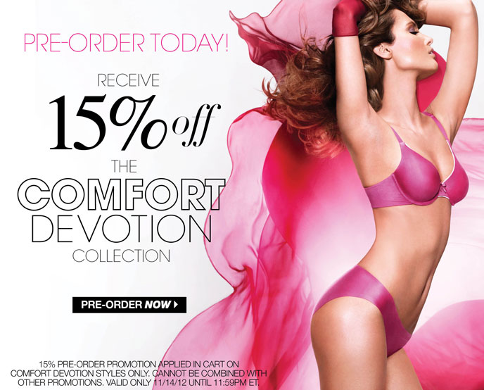 Pre-Order Today! Receive 15% Off the Comfort Devotion Collection