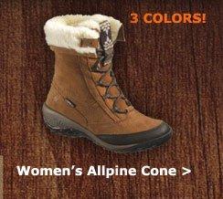 Women's Allpine Cone