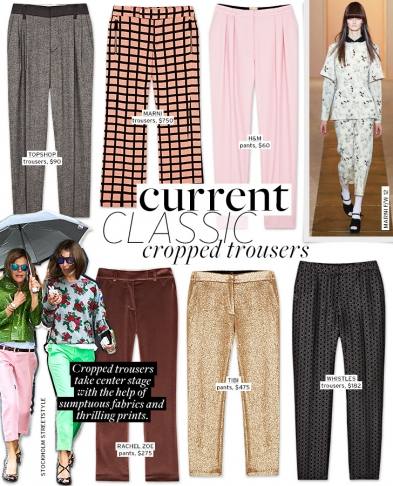 Current Classic: Cropped Trousers