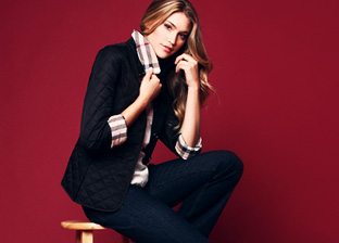 Burberry: The Quilted Jacket for Her
