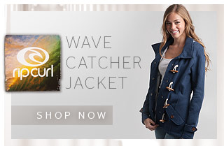 The Wave Catcher Jacket - Shop Now