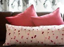 Ruana Designs Silken Pillows & Window Panels