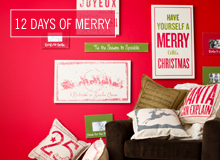 The 12 Days of Merry Let's Decorate