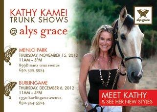 Kathy Kamei Trunk Show