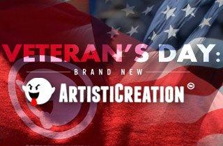 Veteran's Day: Brand New Artisticreation
