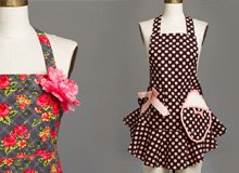 Jessie Steele Aprons, Oven Mitts, & Towels