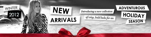 New Arrivals - Winter 2012