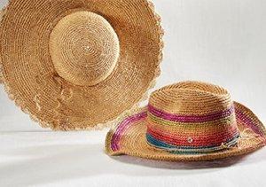 POOL SIDE: FLORA BELLA HATS