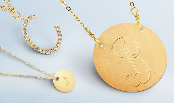 Perfect Gift: Initial Jewelry  - Visit Event