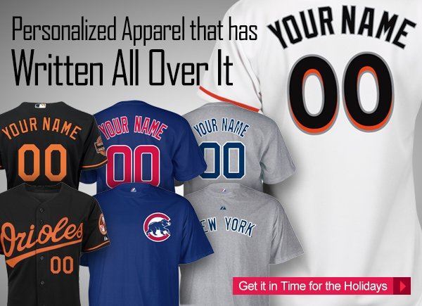 Personalized Apparel That Has Your Name Written All Over It.