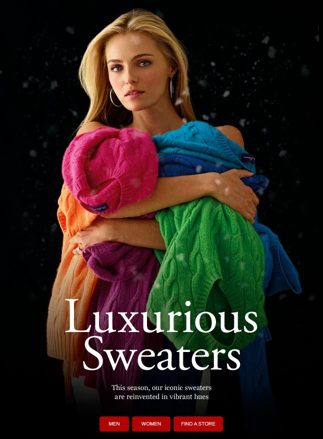 Luxurious Sweaters