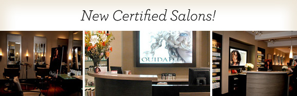 New Certified Salons!