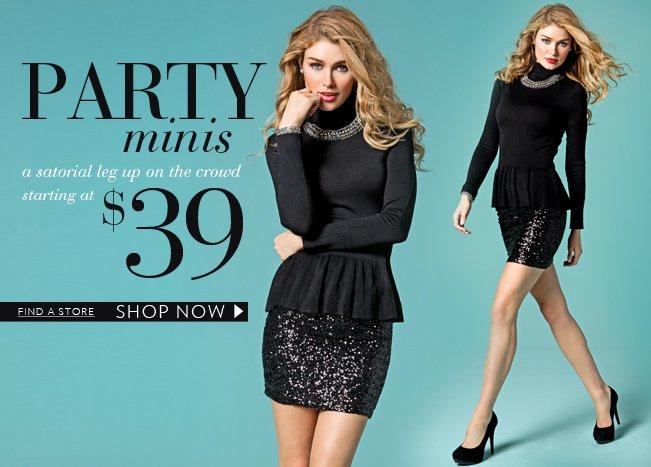 Shop $39 Party Minis!