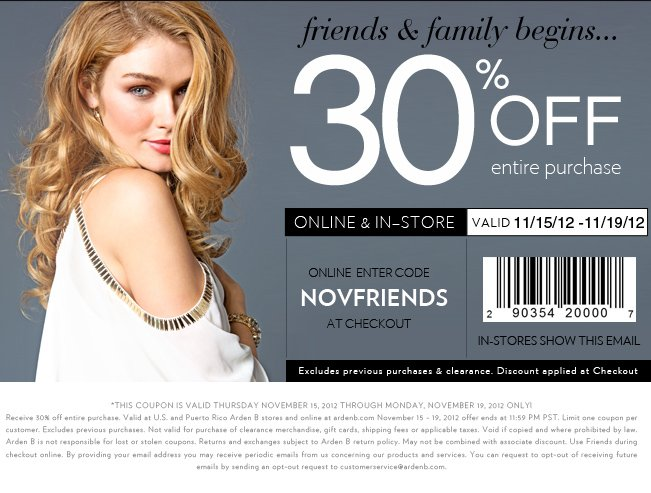 Shop 30% OFF Entire Purchase!