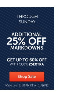 Additional 25% Off