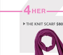 » THE KNIT SCARF