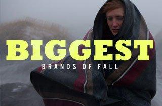 Biggest Brands of Fall