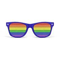 Rainbow Flag Glasses Image