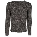 Paul Smith Knitwear - Black Twisted Bouclé Jumper