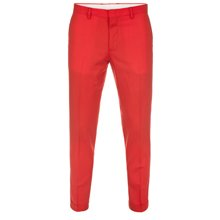 Paul Smith Trousers - Red Slim-Fit Trousers