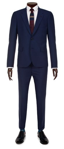 Paul Smith Suits - Slim-Fit Indigo Blue Suit