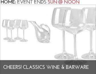 CHEERS! CLASSIC WINE BARWARE - Home