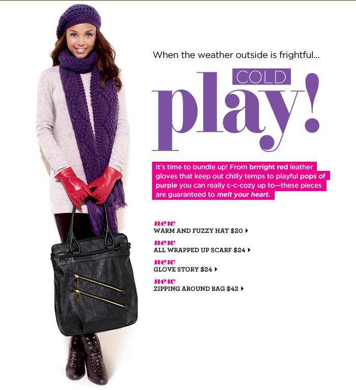 Cold Play!