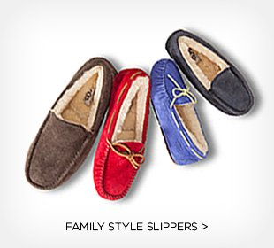 family style slippers >
