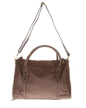 Valance Leather Knot Decorated Tote Made in Italy $135