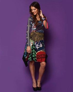 Desigual Graphic Skirt $45