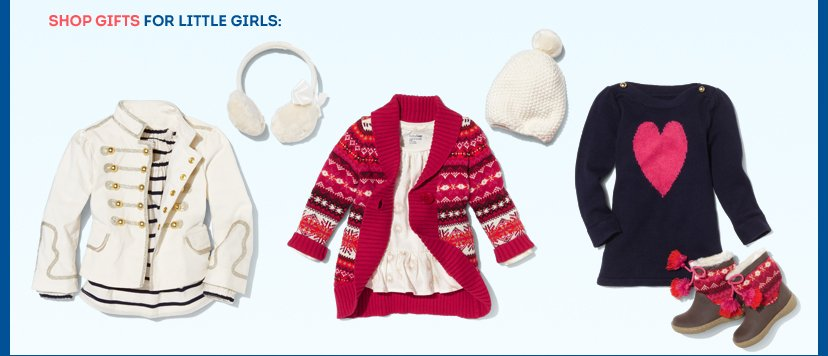 SHOP GIFTS FOR LITTLE GIRLS