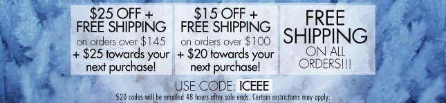 $25 Off + Free Shipping