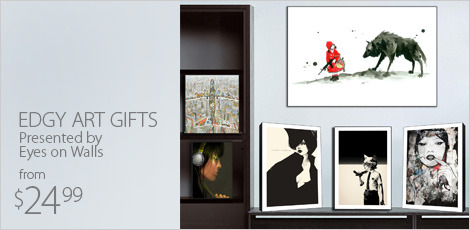 Edgy Art Gifts, Presented by Eyes on Walls