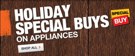 Holiday Special Buys on Appliances
