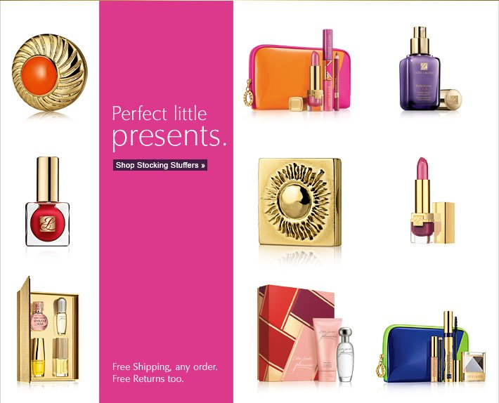 Perfect little presents. Shop Stocking Stuffers »  Free Shipping, any order. Free Returns too.