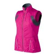 Brooks NightLife Essential Run Jacket II in Brite Pink